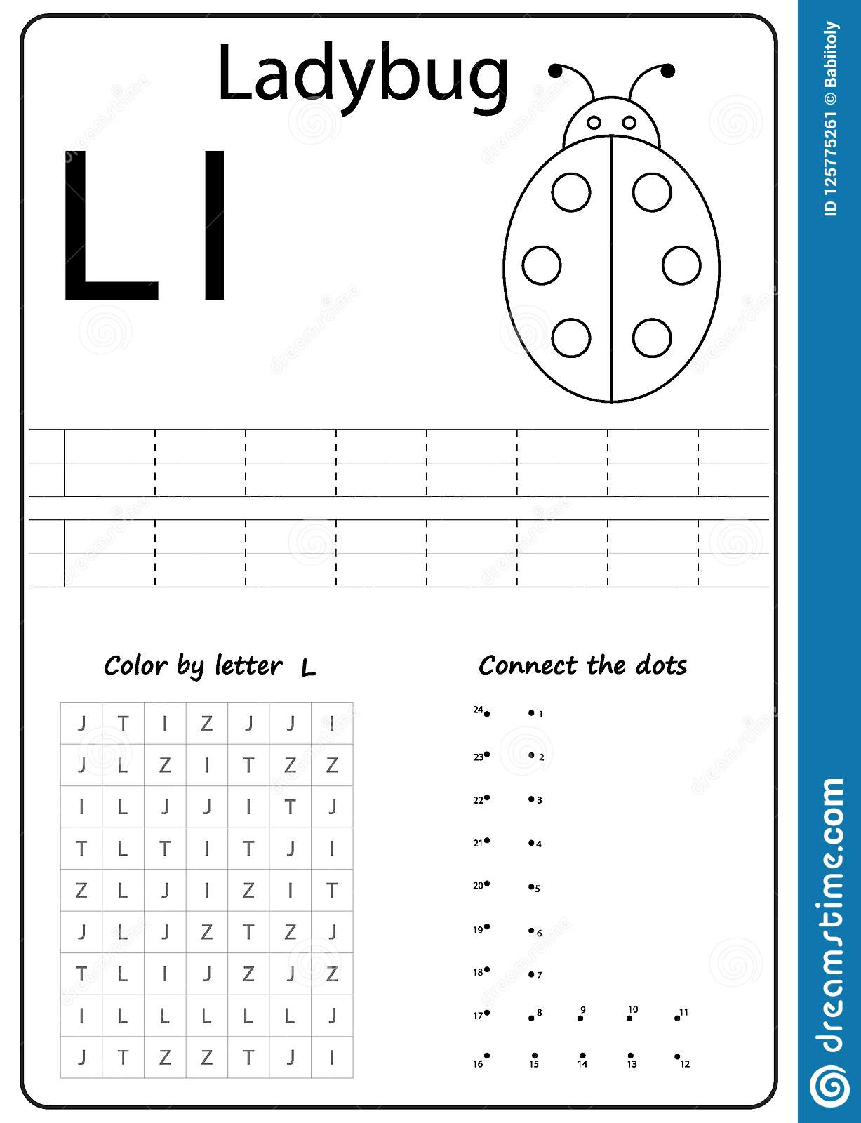 Writing Letter L. Worksheet. Writing A-Z, Alphabet pertaining to Letter L Worksheets Free