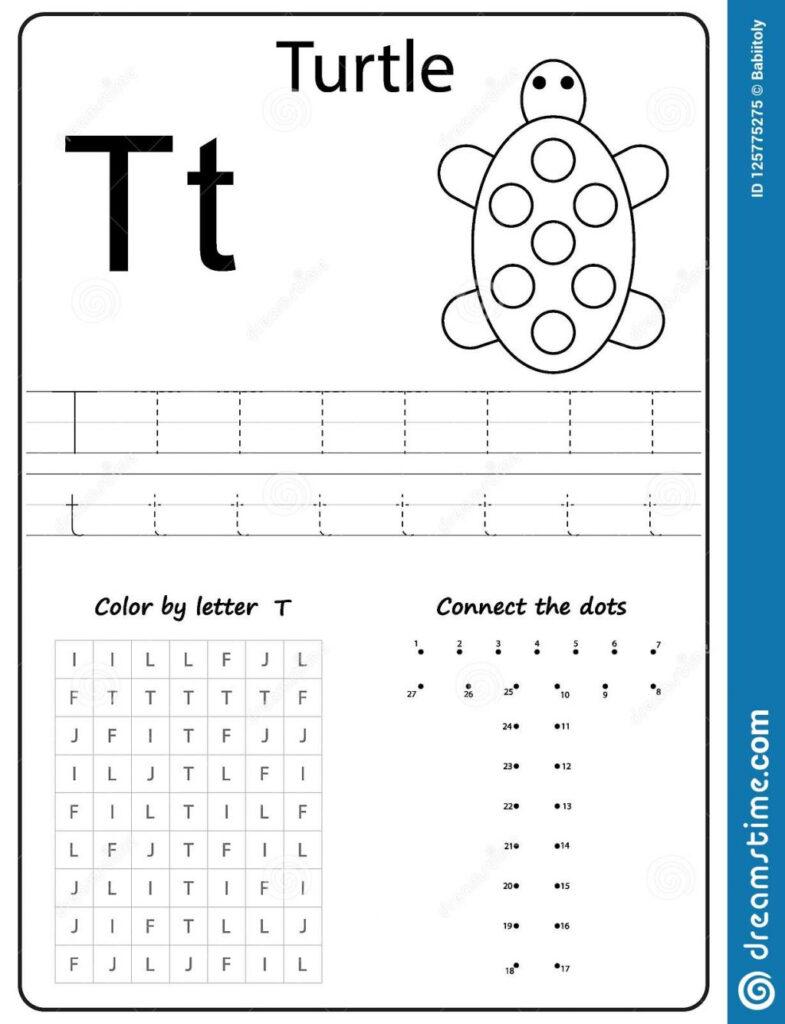 Writing Letter T Worksheet Z Alphabet Az Worksheets For Regarding Letter T Worksheets Handwriting