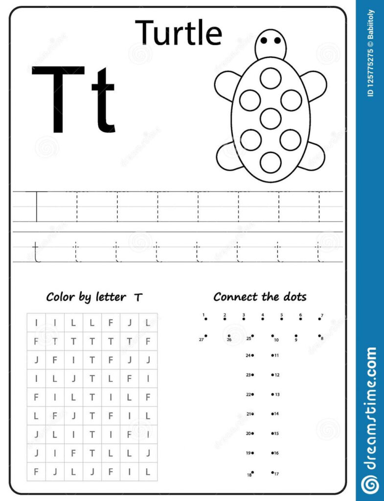 Writing Letter T Worksheet Z Alphabet Az Worksheets For With Letter Worksheets A Z