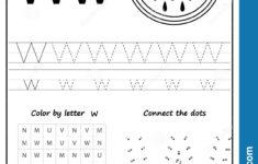 W Letter Worksheets