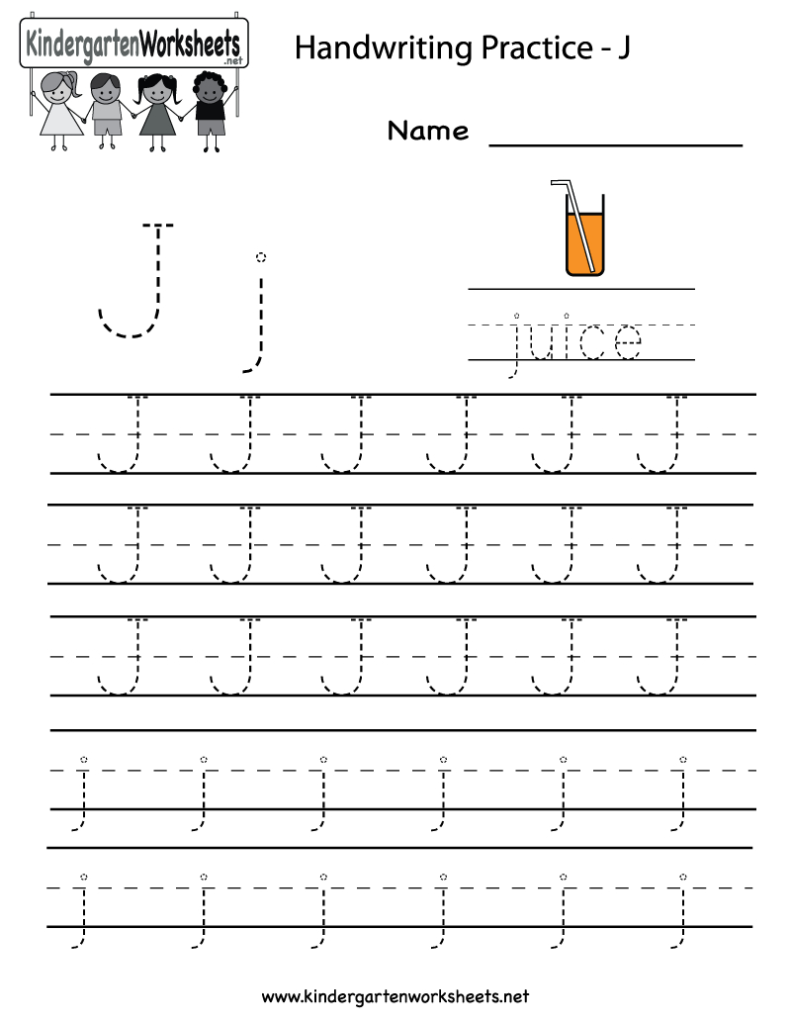 10/8/13 Both Need To Practice Letter Formation. Did 4 Each Regarding Letter J Worksheets Printable