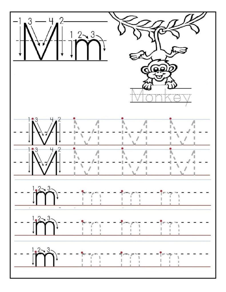 2 Preschool Letter N Tracing Worksheets In 2020 | Printable Pertaining To Letter N Tracing Worksheets Preschool
