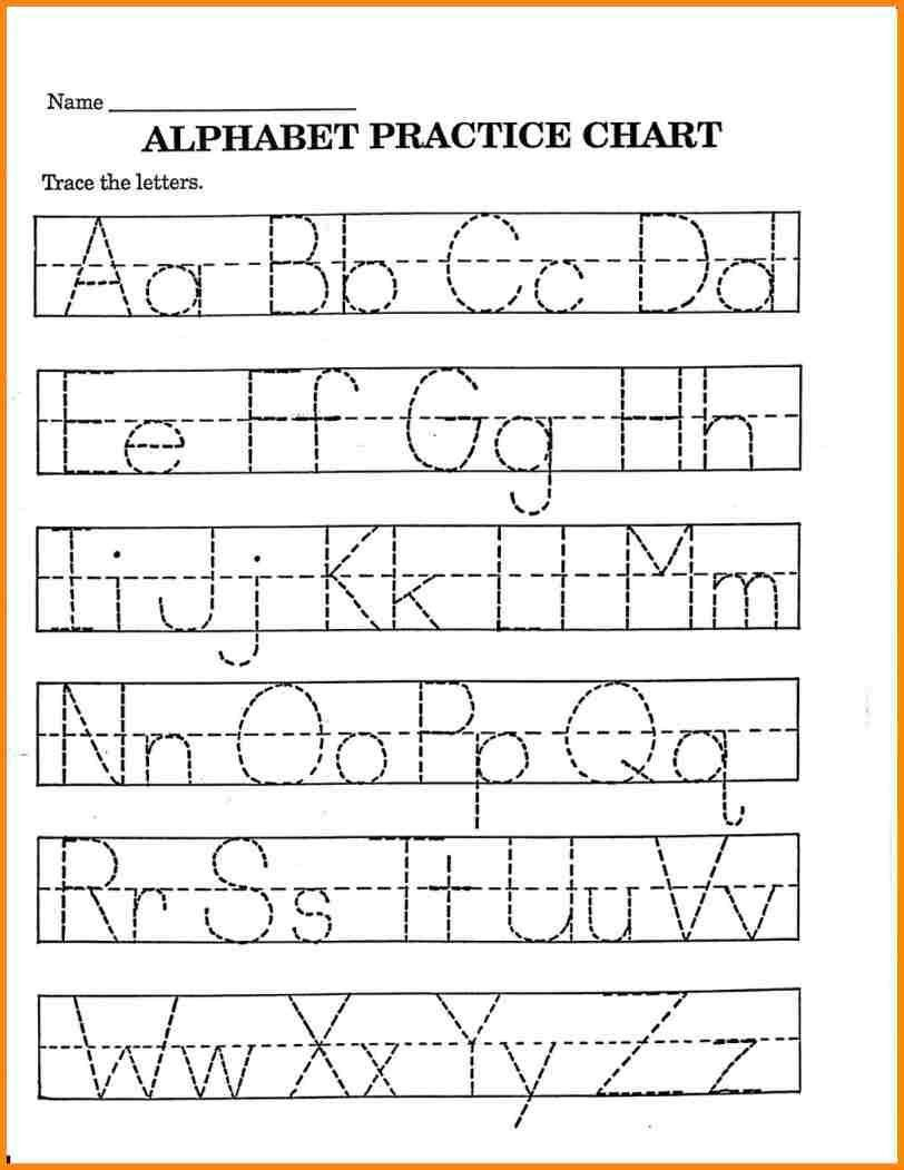 2 Trace Your Name Worksheet Alphabets In 2020 | Printable pertaining to Pre K Name Tracing Worksheets