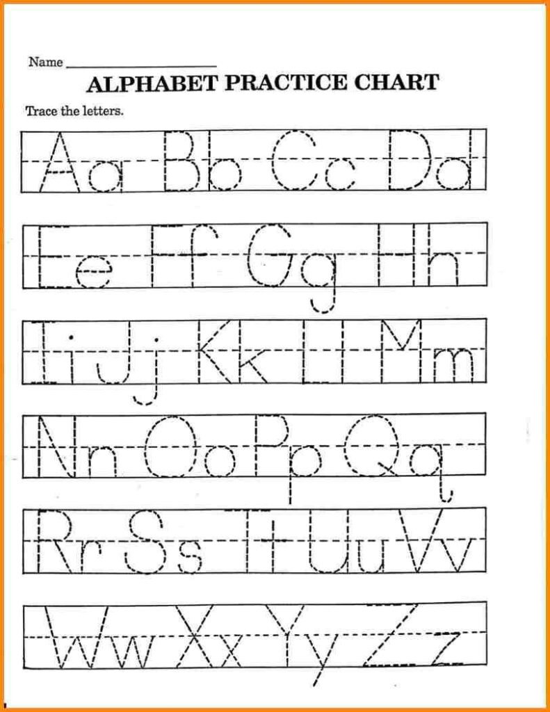 2 Trace Your Name Worksheet Alphabets In 2020 | Printable Throughout Pre K Name Tracing Sheets