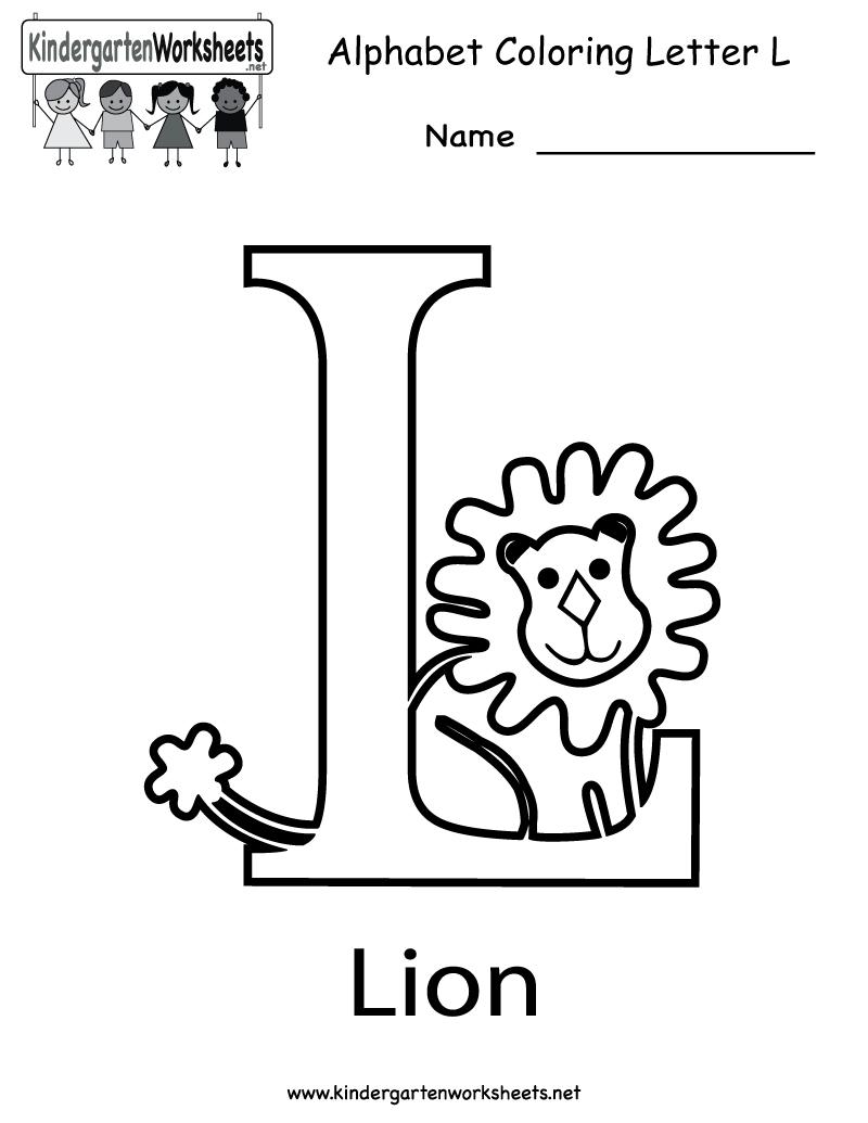 28+ [ L Worksheets ] | Letter L Worksheets For Preschool for Letter L Worksheets For Preschool