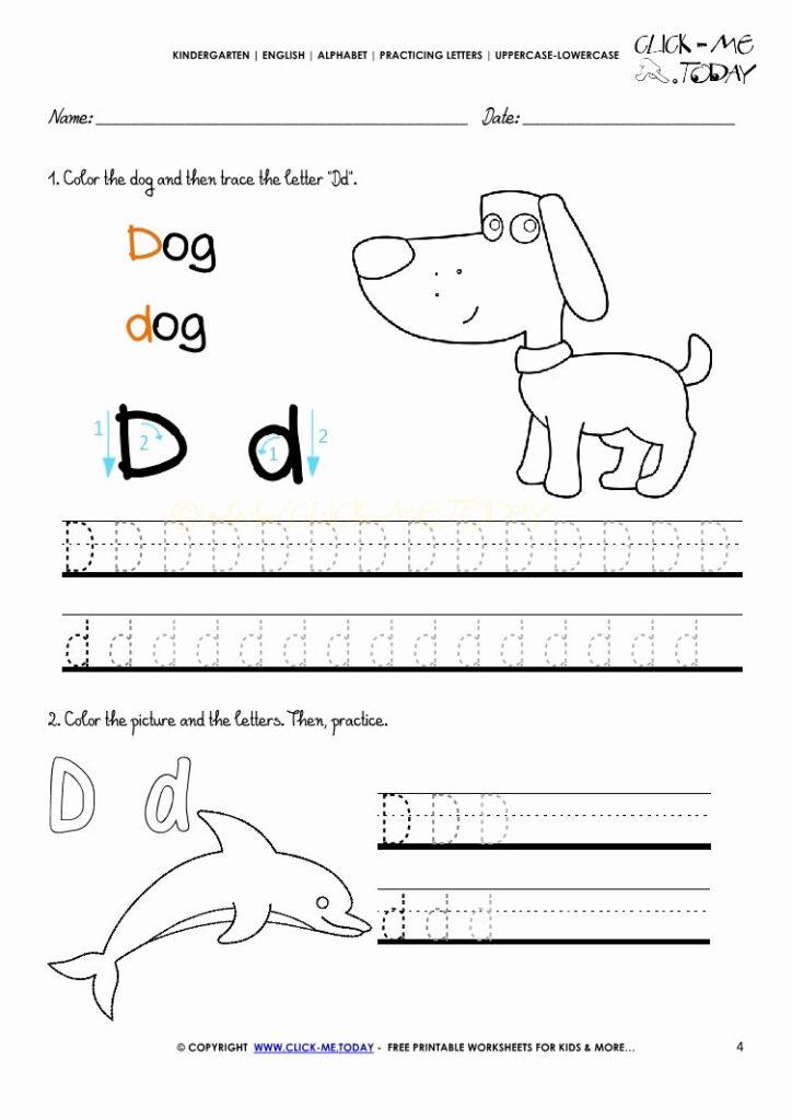 4 Alphabet Worksheets Kindergarten Free   Worksheets Schools Intended For Name Tracing Kidzone