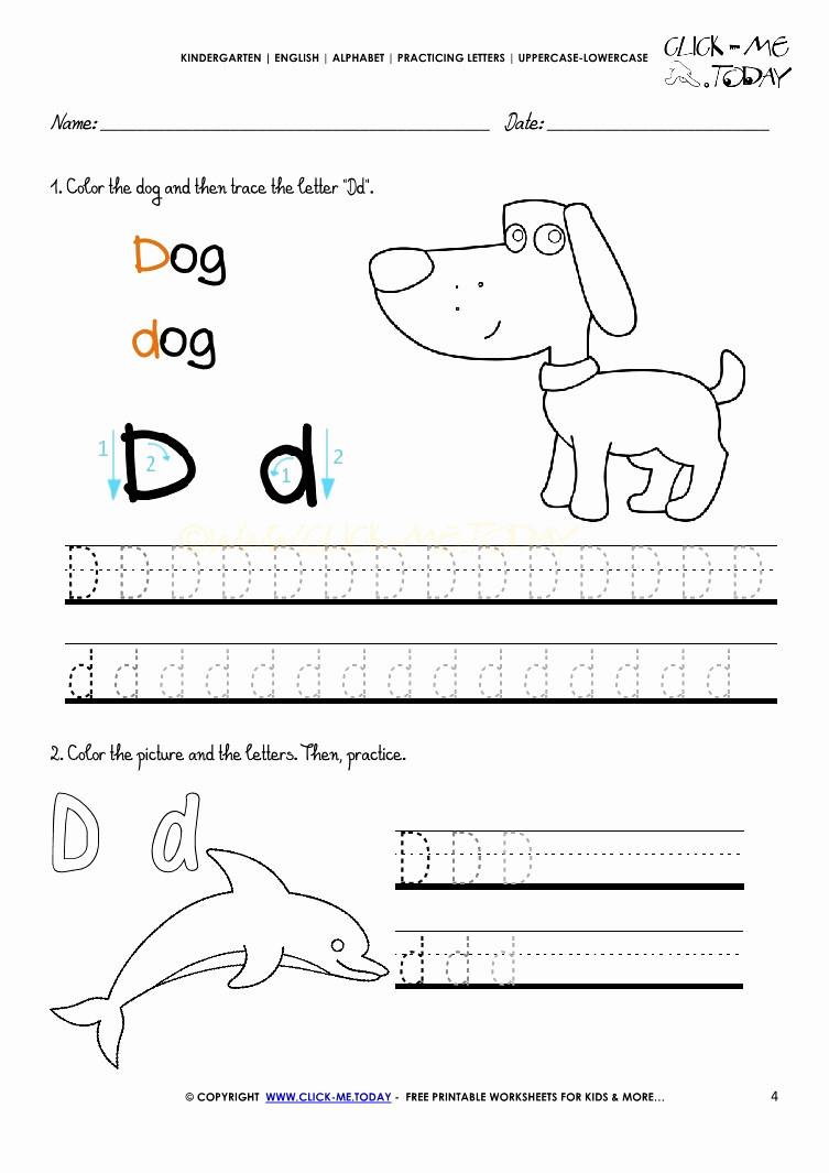 4 Alphabet Worksheets Kindergarten Free - Worksheets Schools intended for Name Tracing Kidzone