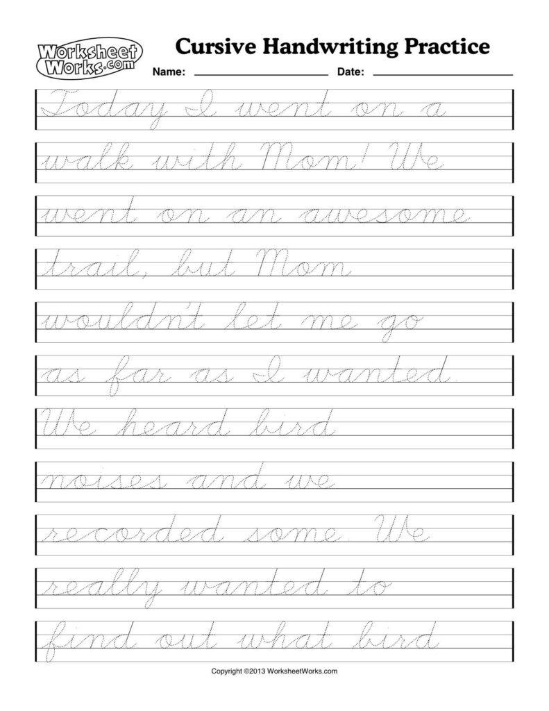 4 Cursive Writing Worksheets Cursive Alphabet Letter P Intended For Alphabet Worksheets Cursive