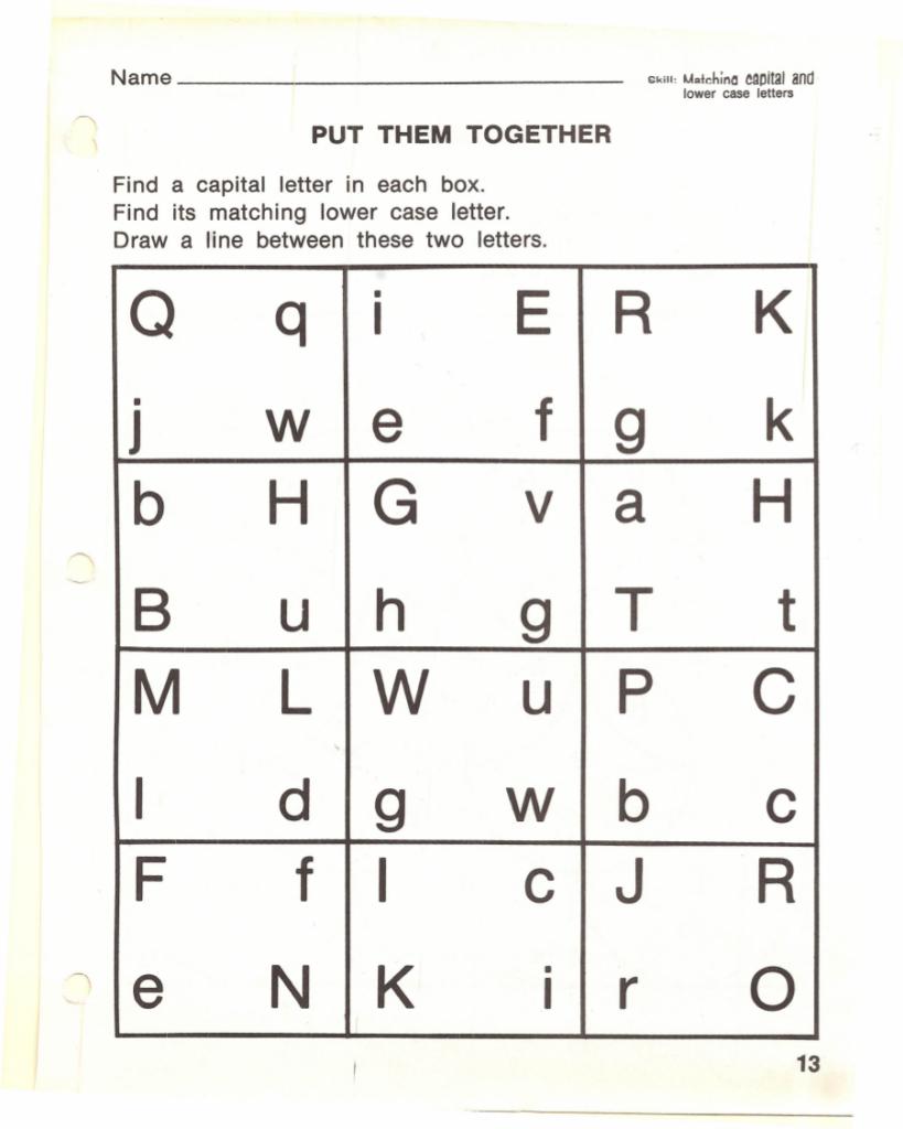 9+ Alphabet Worksheet Examples In Pdf | Examples Regarding Letter Identification Worksheets Pdf