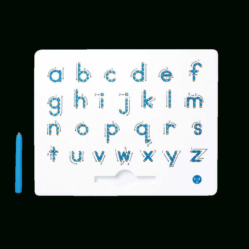 A To Z Lowercase Magnatab® inside Letter Tracing Directional Arrows