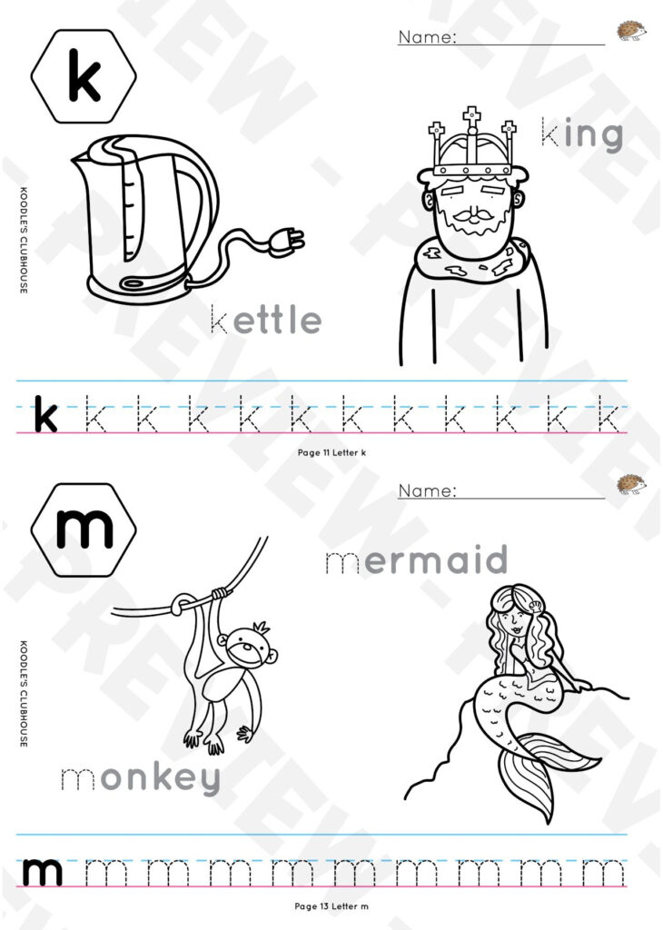 A To Z Tracing Worksheets | Tracing Worksheets, Letter In A Z Name Tracing