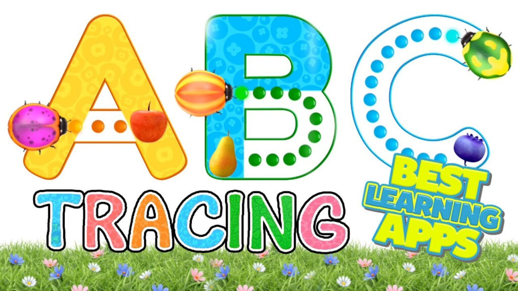A Z Phonics Tracing Abc With Dave & Ava | Best Educational App For Kids Intended For Abc Tracing Video