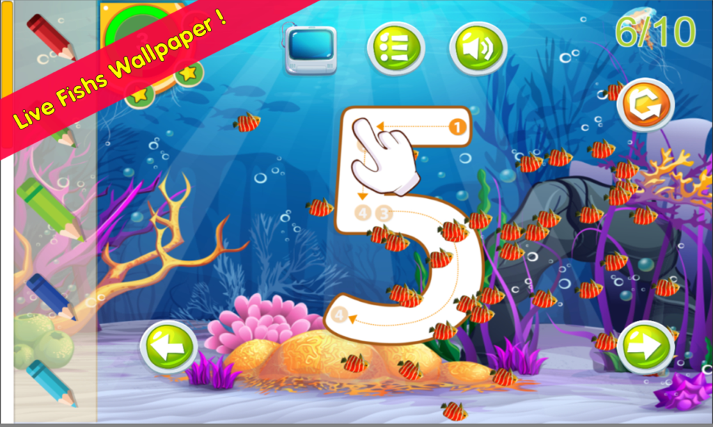 Abc 123 Tracing For Toddlers 1.0 Download Android Apk   Aptoide Within Abc 123 Tracing For Toddlers