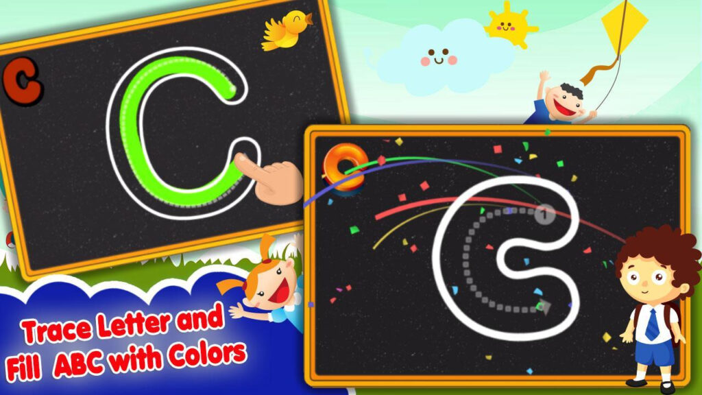 Abc 123 Tracing For Toddlers For Android   Apk Download Intended For Abc 123 Tracing