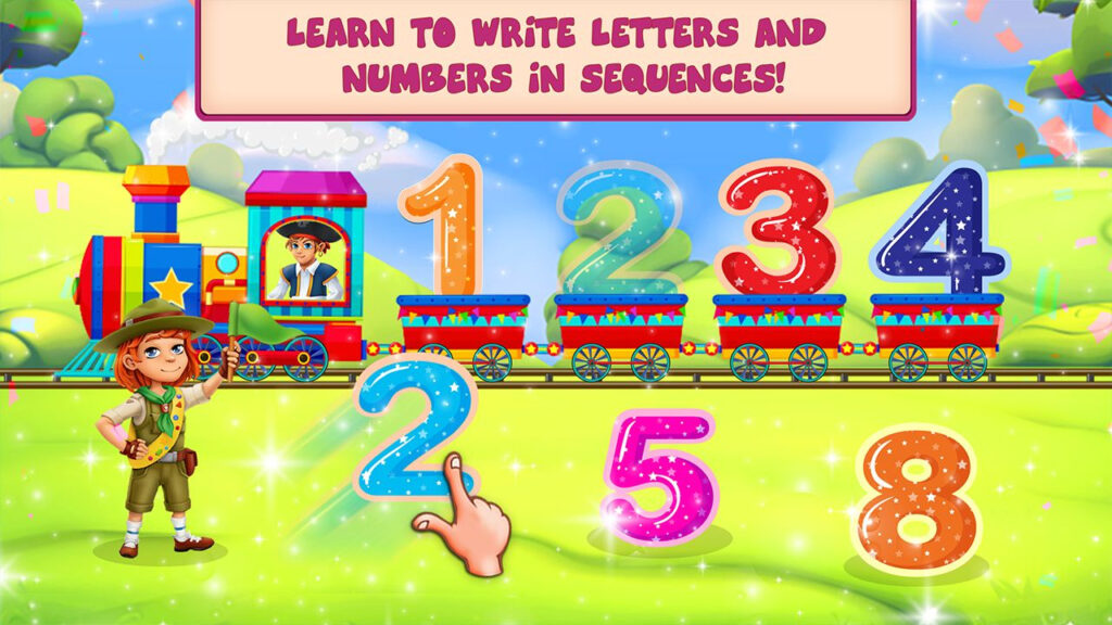 Abc 123 Tracing Learning Game [Ios] (With Images) | Learning For Abc 123 Tracing