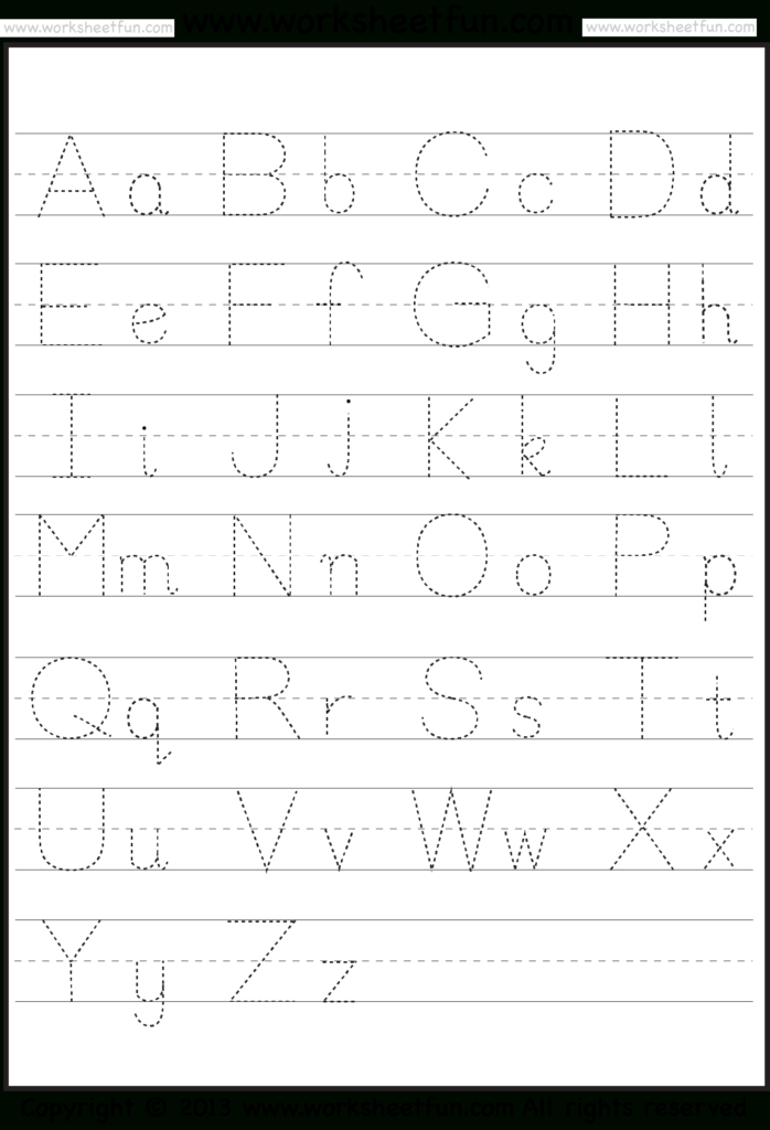 Abc & 123 Tracking Pages For Letters & Numbers Intended For Abc 123 Tracing For Toddlers
