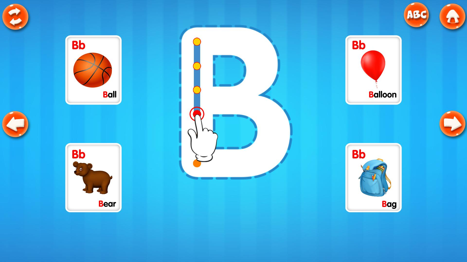 Abc Alphabet Tracing For Android - Apk Download intended for Alphabet Tracing App Free