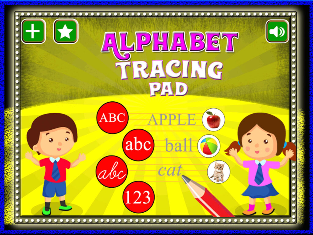 Abc Alphabet Tracing Game For Android   Apk Download With Alphabet Tracing Game