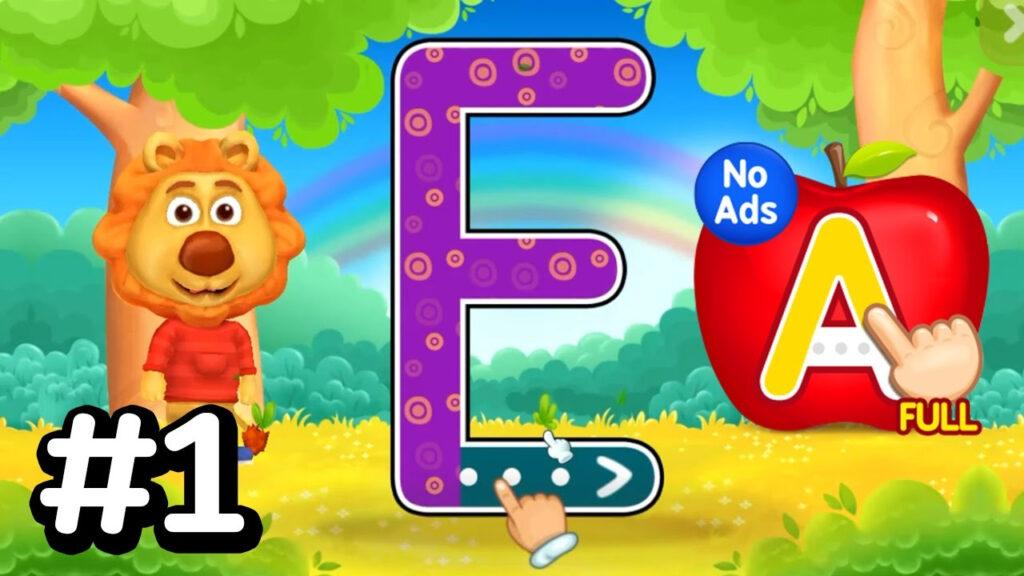 Abc Kids   Tracing & Phonics #1 ! Alphabet Abc Learn   Kids Learning Game Inside Abc Tracing Games