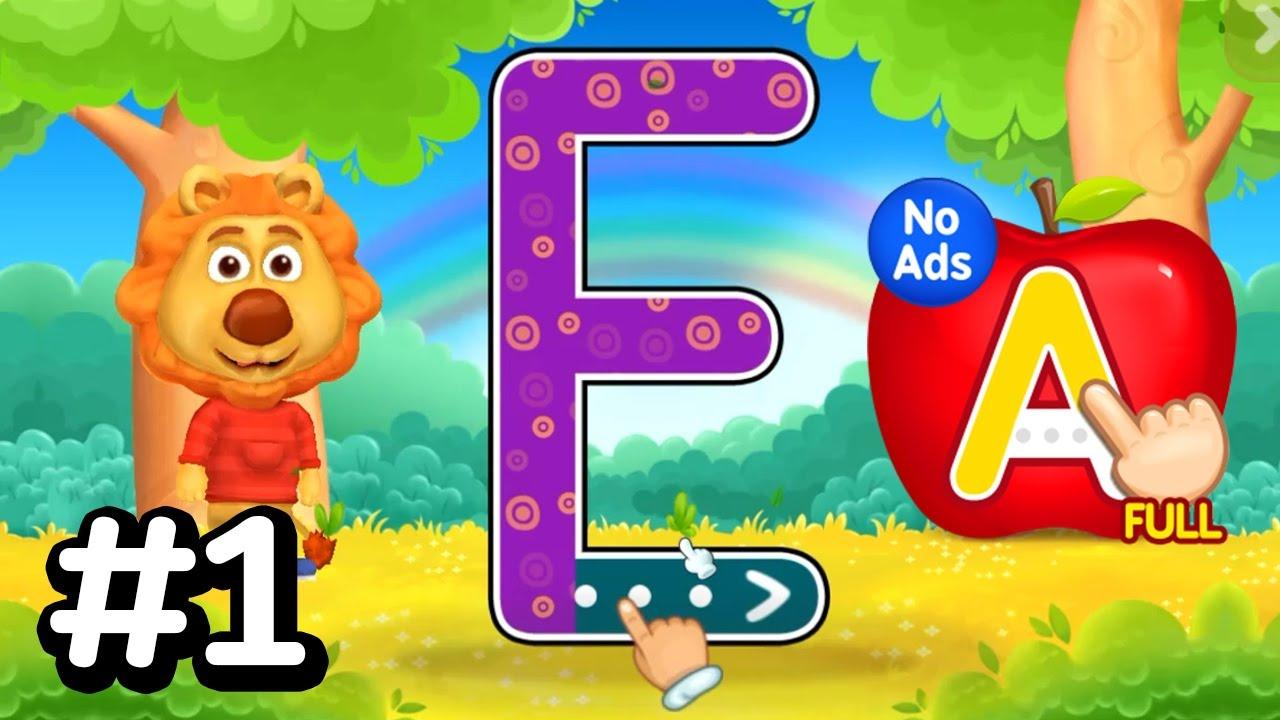 Abc Kids - Tracing & Phonics #1 ! Alphabet Abc Learn - Kids Learning Game inside Abc Tracing Games