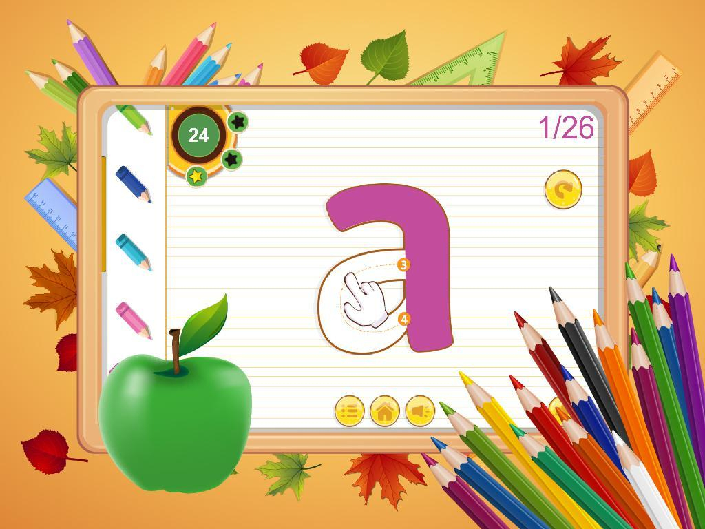 Abc Kids Writing Alphabet - Trace Handwriting App For inside Alphabet Tracing Free App