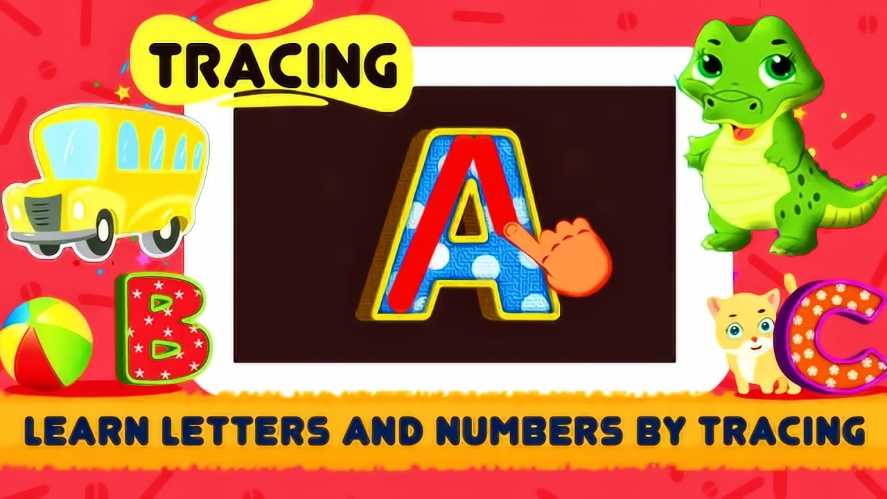 Abc Song - Rhymes Videos, Games | Phonics Learning | Learn Alphabet | Abc  Tracing | Funny Kids Video in Abc Tracing Video