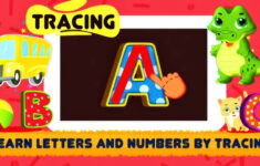 Letter Tracing Video
