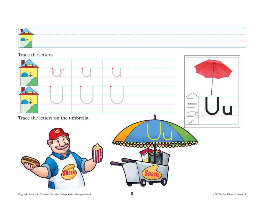 Abc Writing Tablet Manuscript | Fun Writing Activities With Regard To Alphabet Tracing Tablet