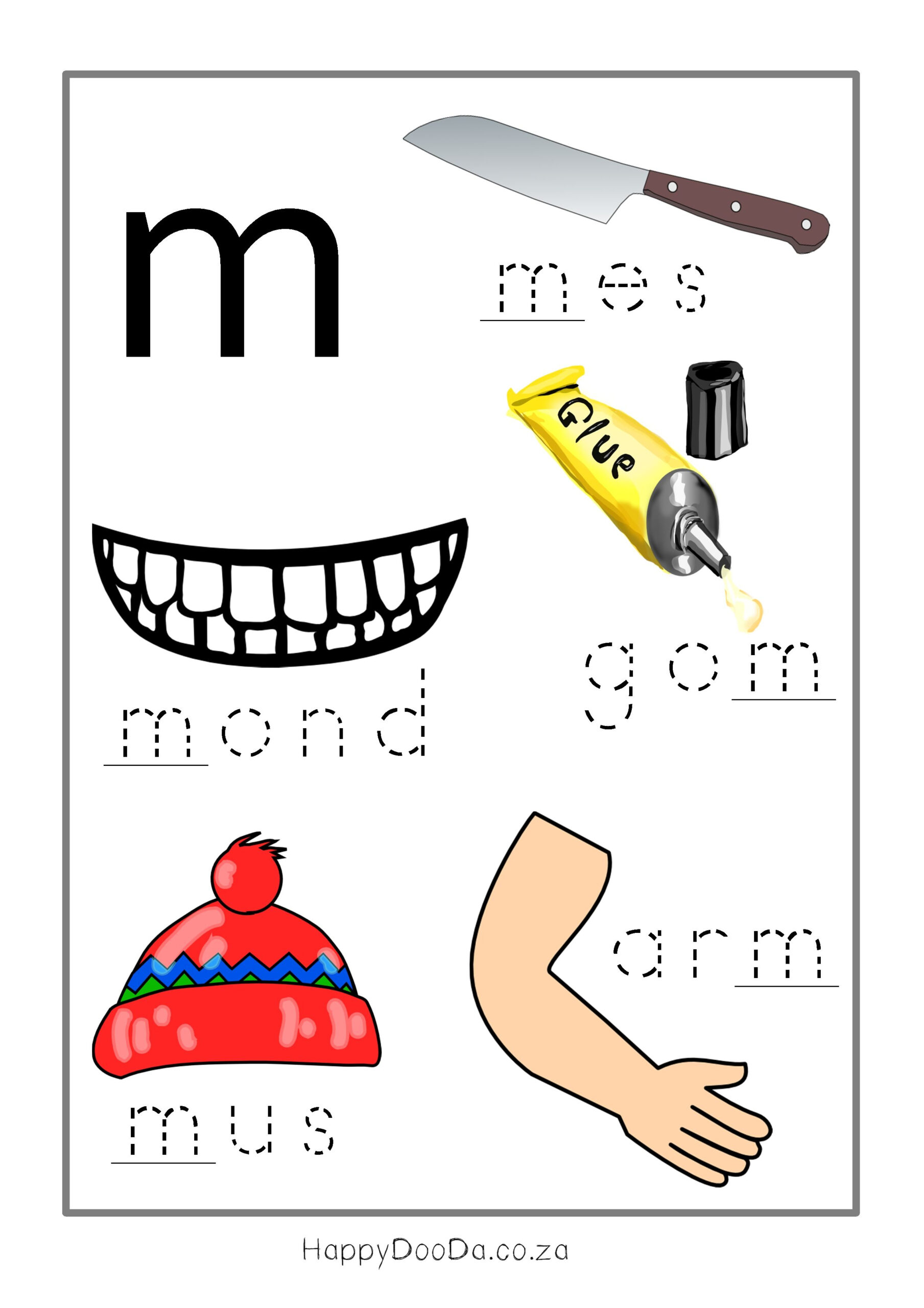 Afrikaans Worksheets Grade 2 - Google Search | Afrikaans with Grade R Alphabet Worksheets South Africa