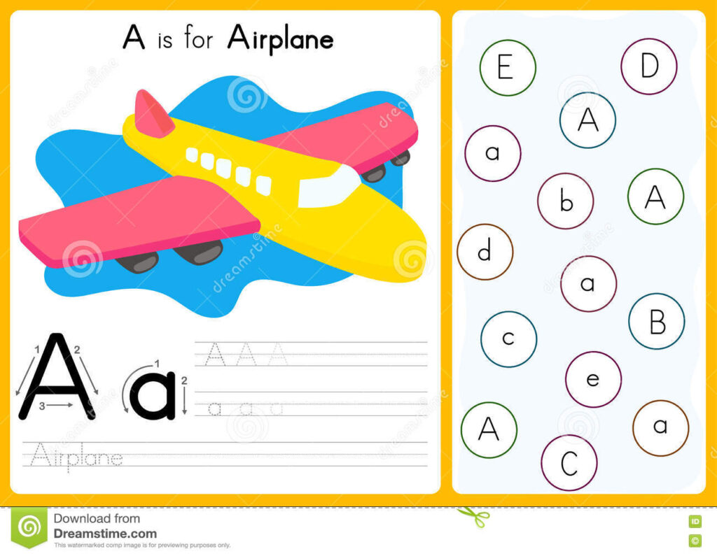 Alphabet A Z Tracing And Puzzle Worksheet, Exercises For Inside Alphabet Tracing Puzzle