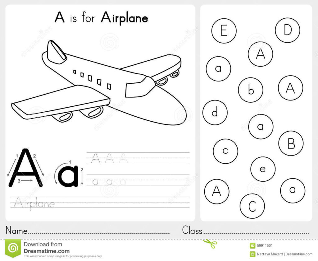 Alphabet A Z Tracing And Puzzle Worksheet, Exercises For With Regard To Alphabet Tracing Puzzle