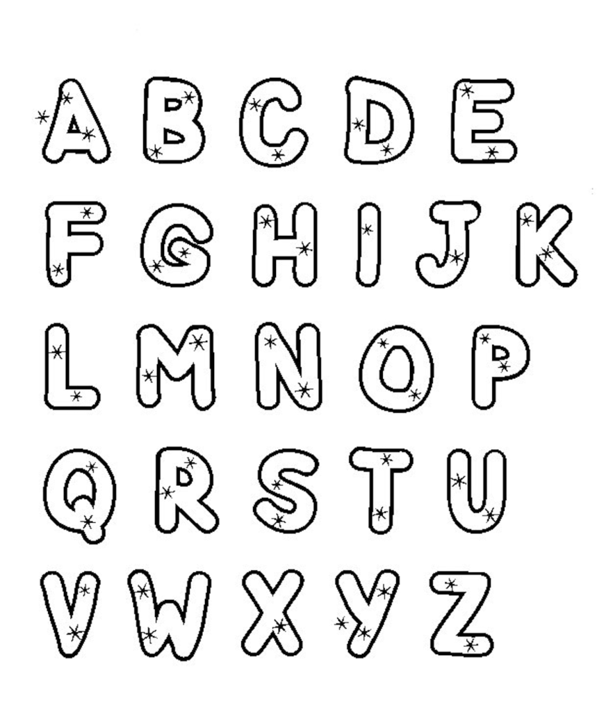 Alphabet Doodle   Alphabet Coloring Pages For Kids Coloring With Alphabet Worksheets Coloring Pages