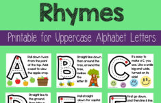 Alphabet Tracing Rhymes