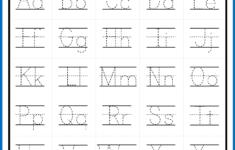 Alphabet Letter Trace