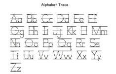 Alphabet Tracing With Arrows