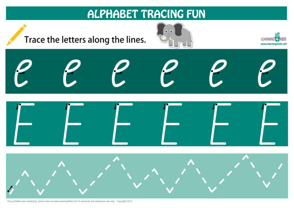 Alphabet Letters Tracing Mats Cursive Print Inside Alphabet Tracing Mat