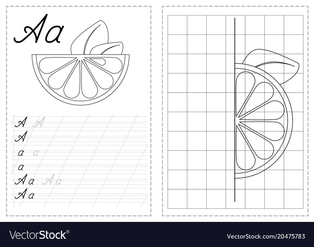 Alphabet Letters Tracing Worksheet With Russian inside Letter I Tracing Sheet