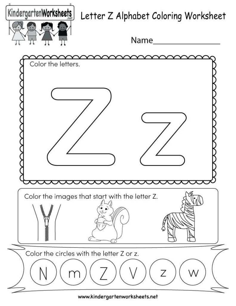 Alphabet Matching Worksheets For Kindergarten Pdf   Clover With Regard To Alphabet Worksheets For Kindergarten A To Z Pdf