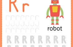 Alphabet Tracing Worksheets For Preschool