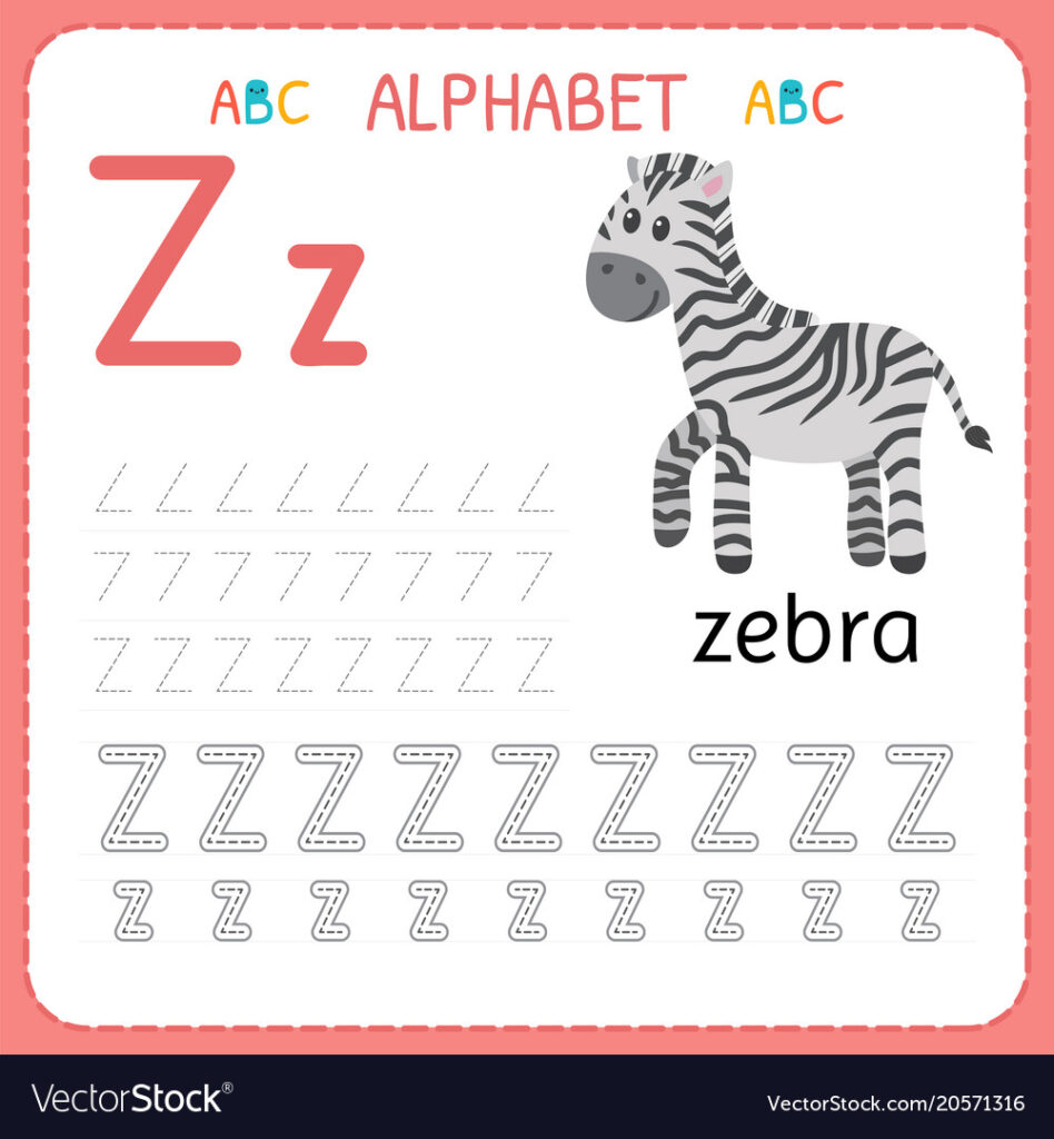Alphabet Tracing Worksheet For Preschool And With Alphabet Tracing Worksheets For Preschool