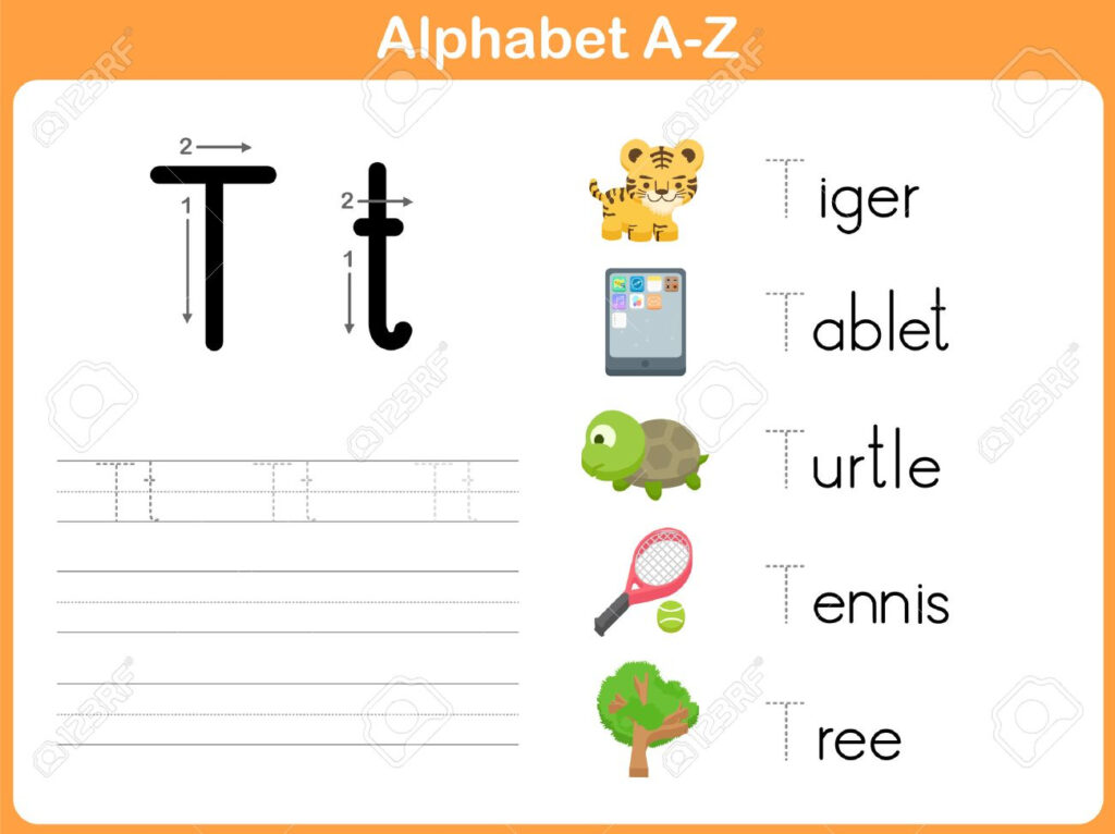 Alphabet Tracing Worksheet: Writing A Z Within Alphabet Tracing Tablet