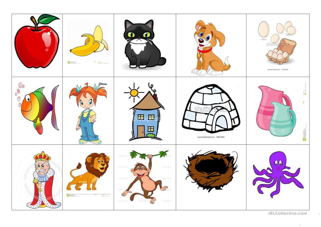 Alphabet Vocabulary   English Esl Worksheets For Distance Within Alphabet Vocabulary Worksheets