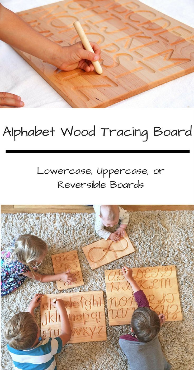 Alphabet Wood Tracing Board Lowercase And/or Uppercase with regard to Alphabet Tracing Board Target