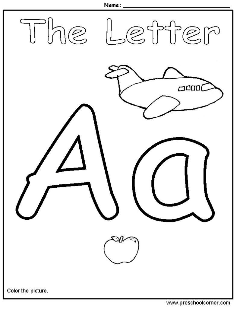 Alphabet Worksheets For Pre Math Handwriting Practice Free Inside Alphabet Worksheets Toddler