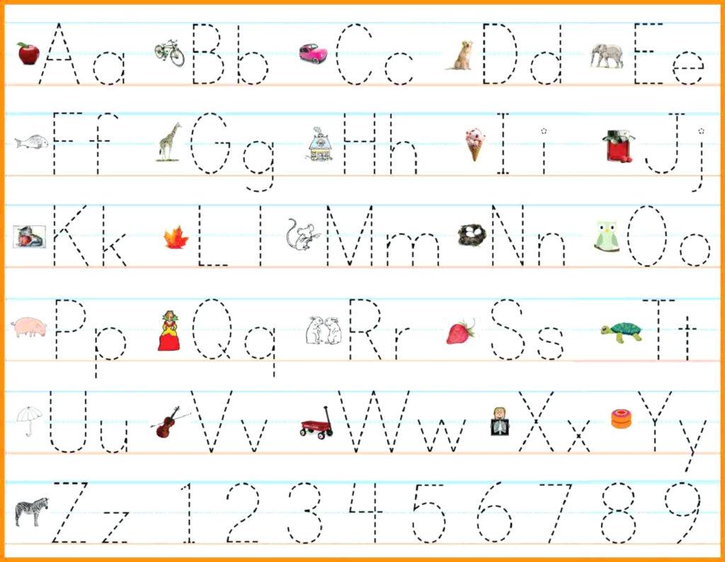 Alphabet Worksheets Pdf Free   Clover Hatunisi With Regard To Alphabet Handwriting Worksheets Pdf