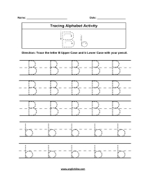Alphabet Worksheets | Tracing Alphabet Worksheets for Alphabet Worksheets Pdf Grade 1