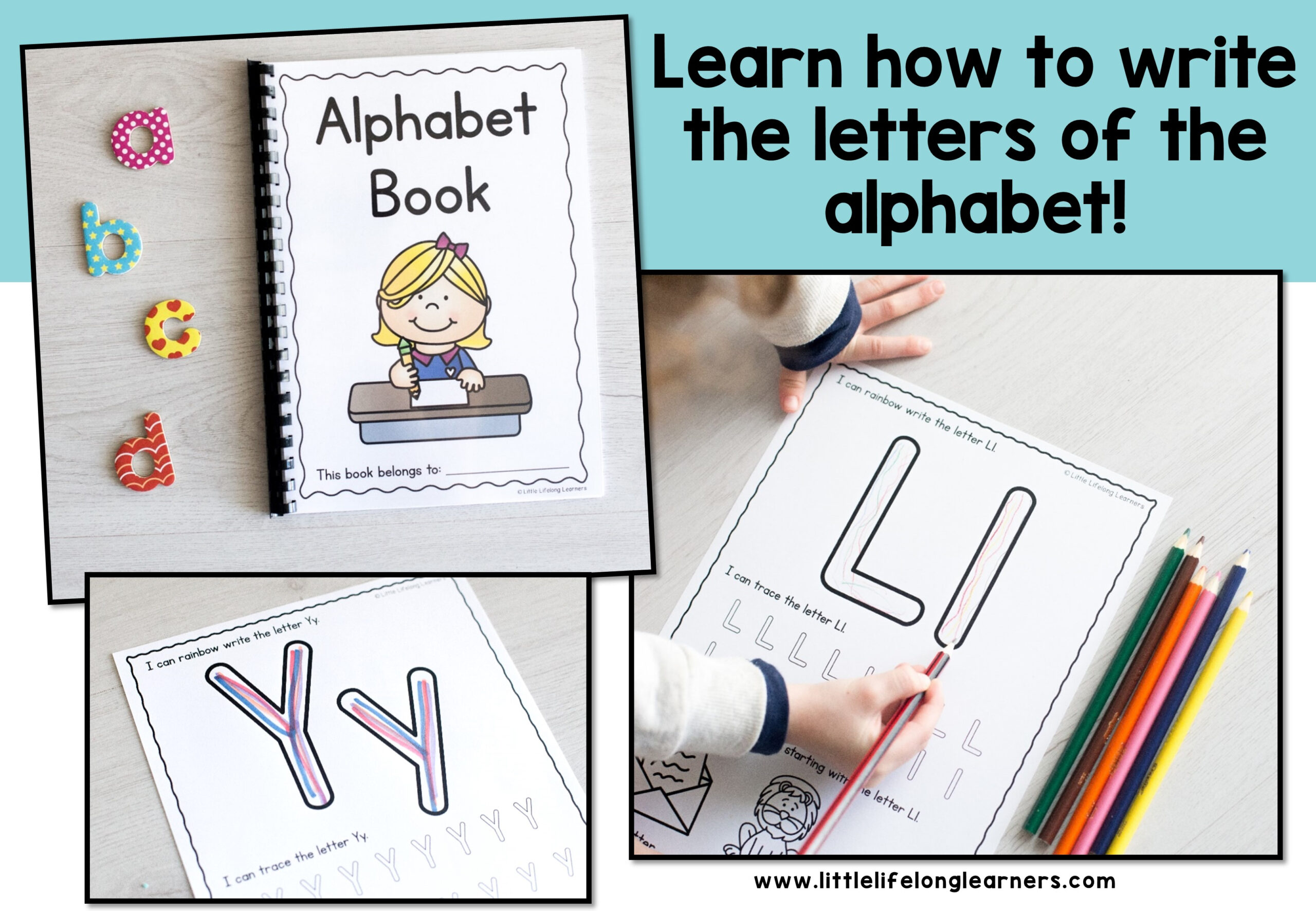 Alphabet Writing Worksheets pertaining to Queensland Alphabet Tracing