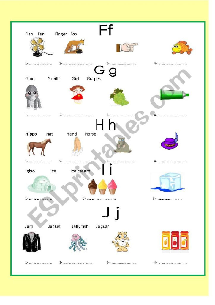 Alphabets 3 Exercise   Esl Worksheetmoshy77 With Alphabet Exercise Worksheets