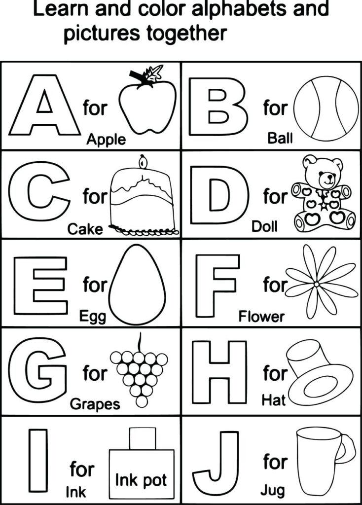 August 3, 2018 – Timothyfregoso.club Regarding Alphabet Worksheets For 2 Year Olds