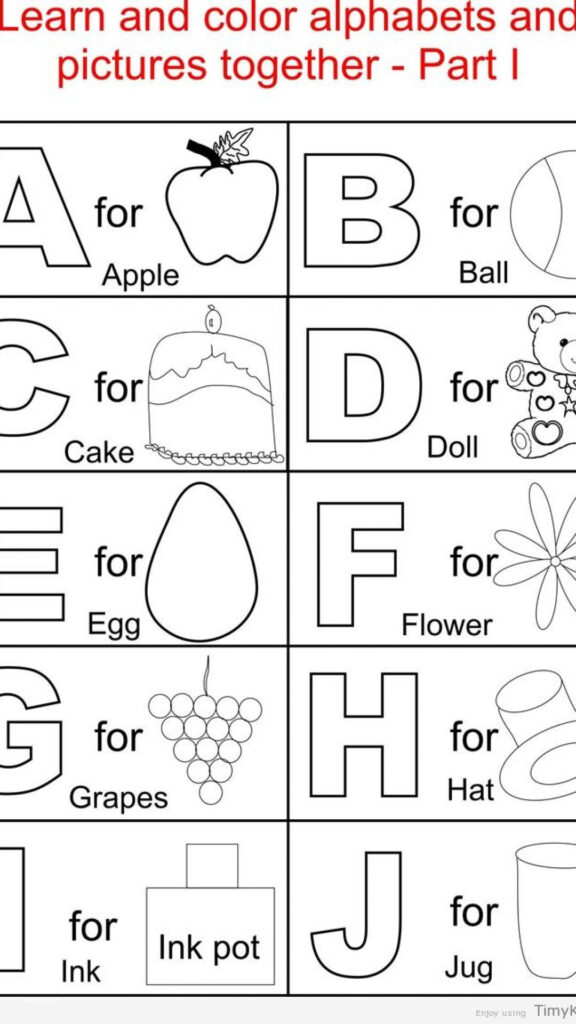 Coloring Pages : Alphabet Coloring Pages For Toddlers For Alphabet Colouring Worksheets Pdf